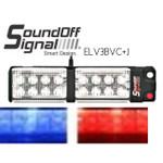 Premium GEN3 LED Visor Lights in RED/BLUE  SoundOFF Signal