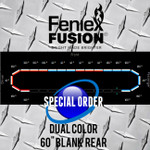 "Feniex FUSION 60"" Dual Color Blank Rear SO"