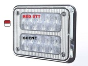 K90-STS0-1  9x7 TecNiq K90 Steady Red STT with Scene lights