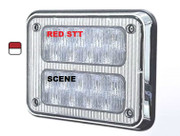 K90-STS0-1  9x7 TecNiq K90 Steady Red STT with Scene bottom
