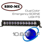 "14"" 60W ESL Emergency Scene Lightbar Dual Color OffRoad Strong"
