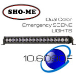 "20"" 90W ESL Emergency Scene Lightbar Dual Color OffRoad Strong"