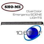 "32"" 150W ESL Emergency Scene Lightbar Dual Color Covert KIT"