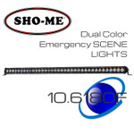 "38"" 180W ESL Emergency Scene OFFRoad Strong Lightbar Dual Color"