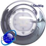 "E20-LC0R-1 Interior light White/Red Dome 6"" Chrome TECNIQ"