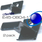 E45-0B04-1   2pack Perpendicular Mount Screw Clips
