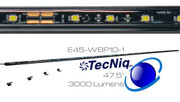E45-WBP10-1 TecNiq Premium 3000 Lumen 60 LED Strip Lights 47.5""