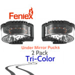 2 pack Feniex Under Mirror PUCK Tri-Color