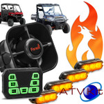 Feniex ATV KIT Lights & Siren & Controller ATV