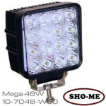 SHO-ME 10-7048.W00 Work Light - 48W Mega LED 2900 lumens
