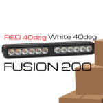 RED - White 40 degree FUSION 200 Stick
