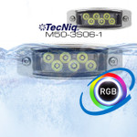 M50-3S06 RGB Water Dragon Underwater Light 6 LED