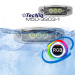 M50-3S06 RGB  Water Dragon Underwater Light 3 LED TecNiq M50