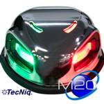 M20 Marine Navigation Light  GREEN- RED 2NM CC approved LifeTime TecNiq