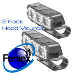 2 Feniex T3 Hood brackets