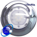 "E20-WC00-1 Interior light White Dome 6"" Chrome TECNIQ"