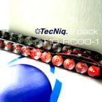 "T10-RC00-1 TecNiq 15"" STT Clear Lens RED lights  2Pack"