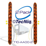 "T10-AA00-1  2 Pack Amber 15"" Marker Lights TecNiq"