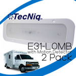 E31-L0MB-2 pack TecNiq Interior LED with Motion Detector