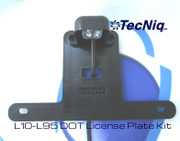 L10-L95 TecNiq DOT License Plate Light Kit
