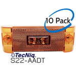 S22-AADT-1 10 Pack TecNiq PC Rated Side Marker Midship