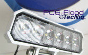New TecNiq P06 STEELhead Worklight White powder coat   FLOOD