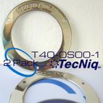 TecNiq T40-0S00-1 Trim Ring 2pack