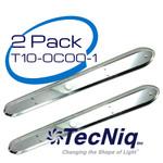 TecNiq T10-0C00-1 Chrome Bezel 2pack