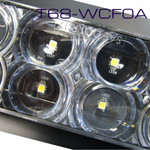 "T68-WCF0A-1  REVERSE 6"" Oval High Vis Amp Connect  10Pack"