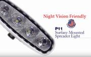 P11 TecNiq Spreader Waterproof light RED-White Night Vision Friendly