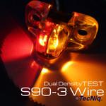 S90-00D0-1 TecNiq Dual Intensity Bi-Color Fender side light 3 wire
