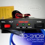 Sho-ME Able230 Series 30.3109 Three Function Dash Mount Siren