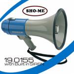19.0155 SHO-ME Megaphone with Siren