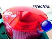 TecNiq BEACON RED K10 Heavy DUTY Autosync K10-RRDP-1 USA
