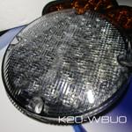 "TecNiq 7"" Round Reverse High Intensity Back UP School Bus New K20-WBU0"