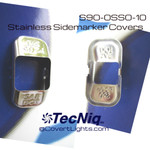 10 PACK  S90-0SS0-1 Stainless Steel Stamping for S90 sidemarkers