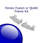 Feniex FUSION or QUAD Replacement Interior Visor METAL KIT