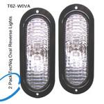 TecNiq T62-W0VA-1  2 Pack Oval Reverse Lights