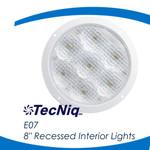 """TecNiq E07 8"""" Recessed Interior Lights"""