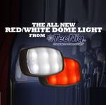 TecNiq Red-White Dome Light NFPA