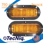 TecNiq T90-AASP 2pk MidShip Amber Surface mount Pigtail