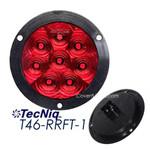 "TecNiq T46-RRFT-1  Hi Vis 4"" Round STT Flange mount Tripole"
