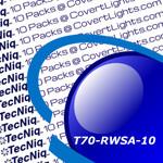 "10 pack T70-RWSA-1 TecNiq 6"" Oval Stop Tail TURN with REVERSE Light"