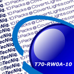 """10 pack T70-RW0A-1 TecNiq 6"""" Oval Stop Tail TURN with REVERSE Light"""