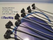 S99-0010 10 Pack 2-Pole Wires for Side Marker Lights