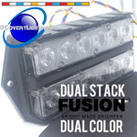 Feniex Fusion Double Stack Surface Mount wtih Dual Color Modules