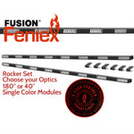 "Feniex FUSION 64"" Rocker Panel SET Single Color"