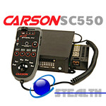 Carson SC-550 200w Stealth Light Control Hand Held Police Siren