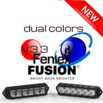 Feniex V3 Fusion Surface Mount Lights Dual Color