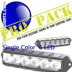 PRO Pack 12 Fusion Surface Mount Lights 6LED SC